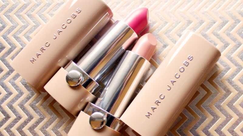 Marc Jacobs neue Akte Lippenstift Review Swatches