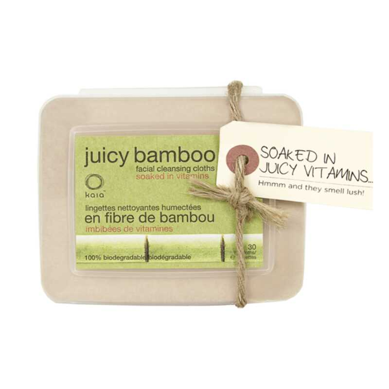 Kaia naturals sočni bambusov obrazni robčki so povsem okolju prijazni