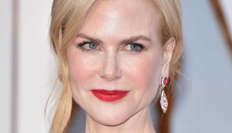 Nicole Kidman, voor en na