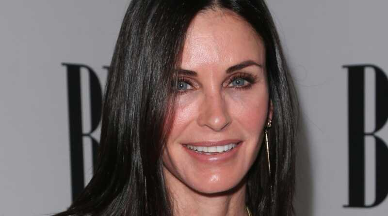 Courteney cox, pred in po