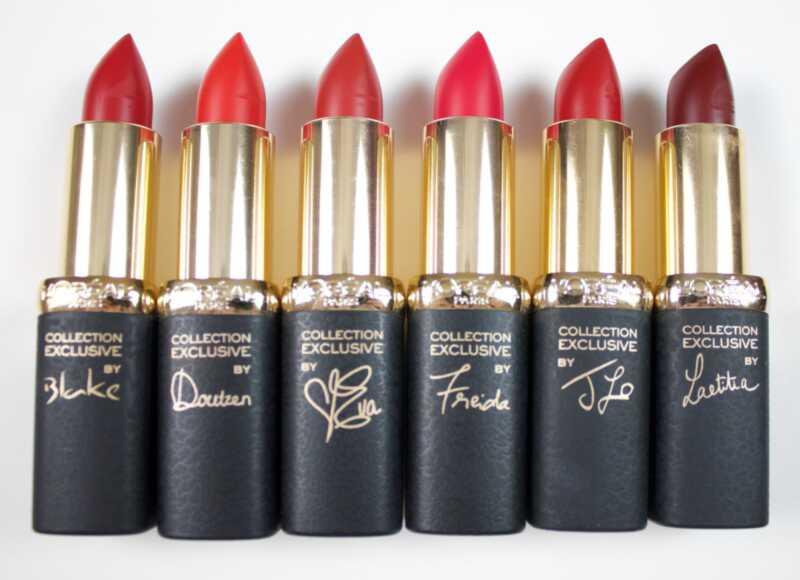 Els amants dels llavis vermells, la col·lecció de pures vermells de loréal shan fet per vosaltres