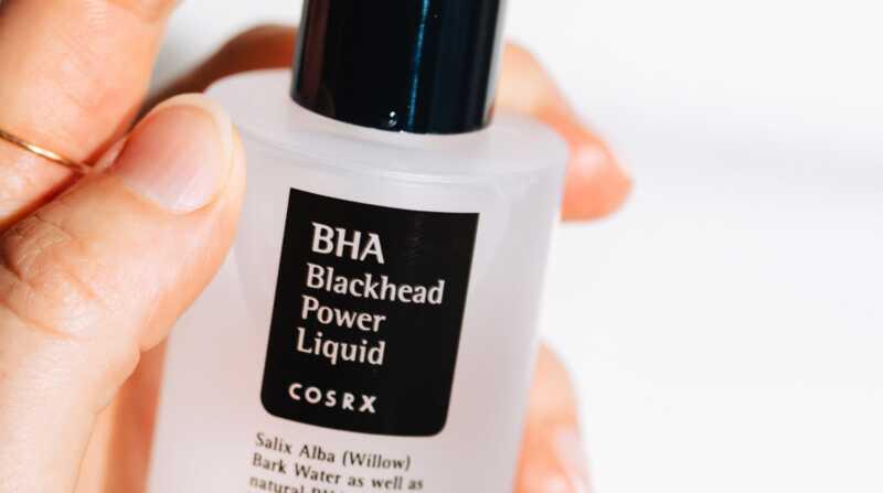 COSRX BHA Pregled tekočin za tekočine Blackhead: najboljši bha exfoliant