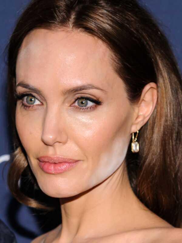 Angelina Jolie is de laatste celeb die een wit poeder-incident heeft
