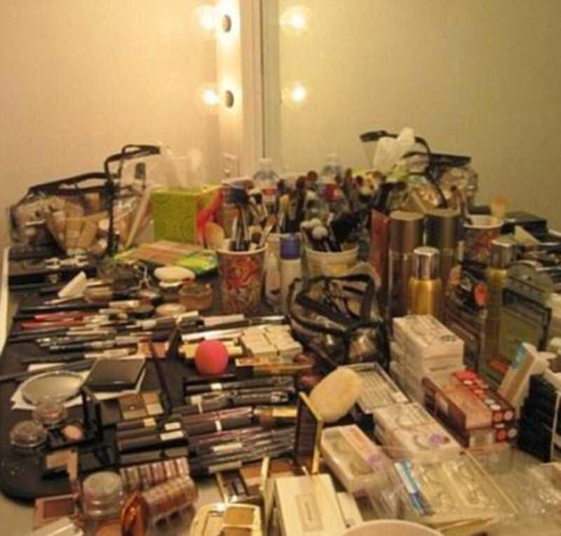 Pergunta: quanto maquiagem é demais?