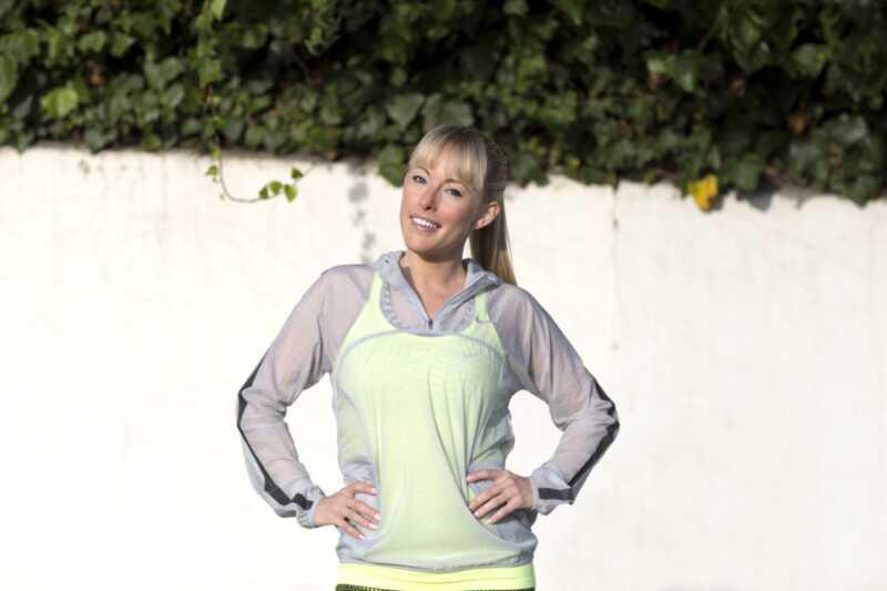 Ekspert fitness Eva Redpath dzieli się wskazówkami dotyczącymi treningu