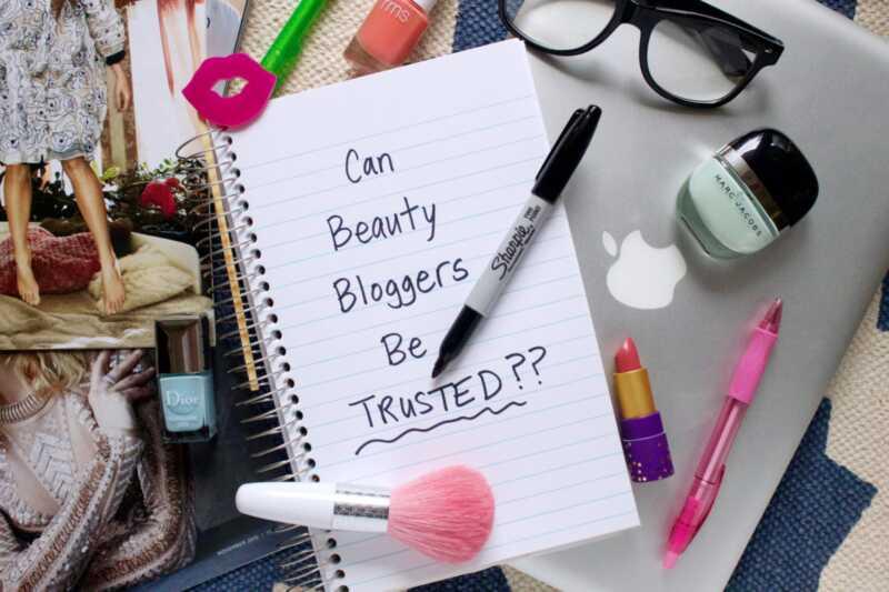Kas saate tõesti ilu bloggeri vastu usaldada?