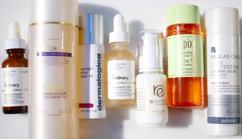 Paano gumamit ng mga acids at retinol sa isang routine na skincare