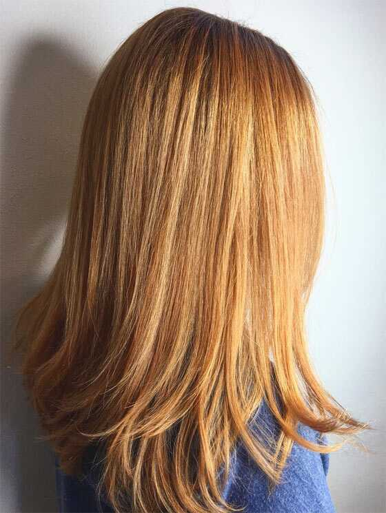 lyst hår med kald hudtone
