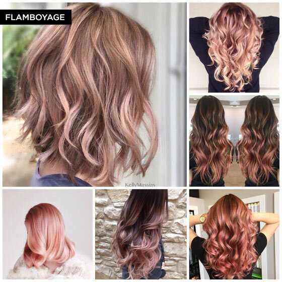 Mi chiedo come tutte queste società di colore dei capelli venire con nomi  interessanti per nuove tecniche di colorazione dei capelli. Flamboyage è  una