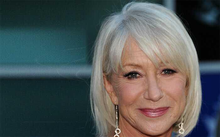 10 famose celebrità internazionali con i capelli bianchi ...