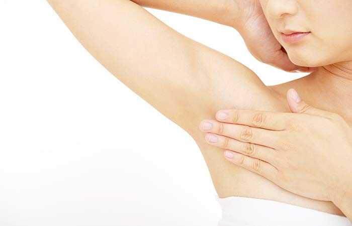 kliar i armhålan cancer