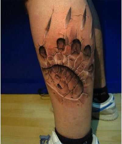 10 Realistische 3D tattoo ontwerpen