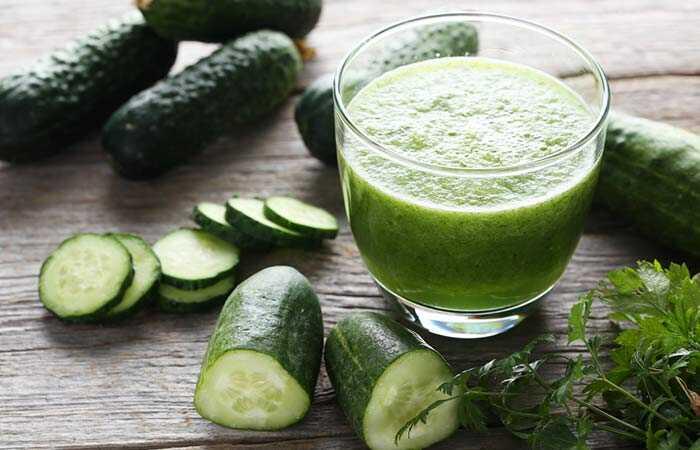 10 najlepších výhod uhorky šťavy