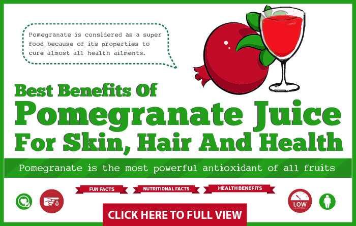17 najlepších výhod Granátového džúsu (Anar Ka Ras) pre pokožku, vlasy a zdravie