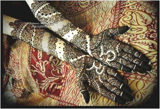 Bedste Black Mehndi designs - vores top 10