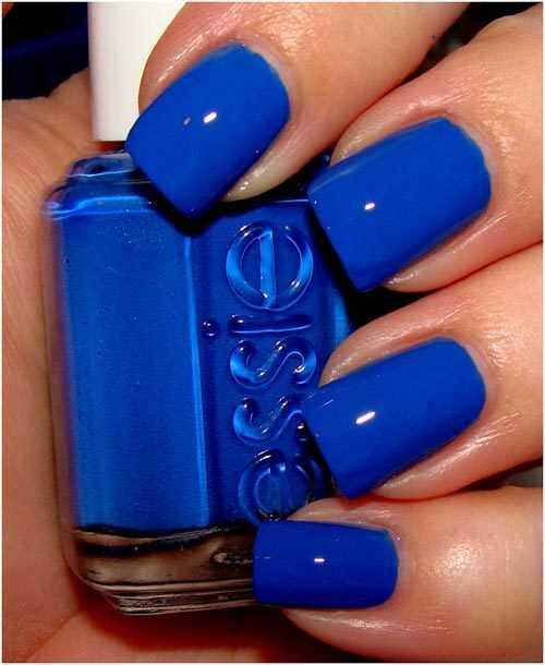 Najlepšie modré laky na nechty - naša špička 10