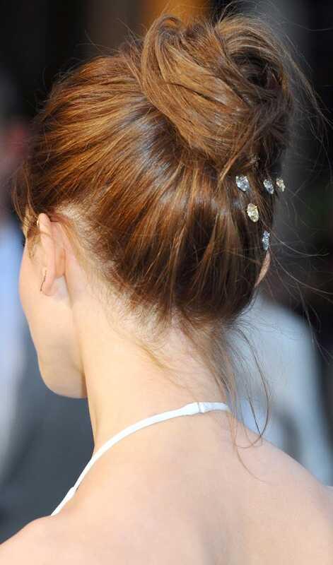 5 Bun hairstyles teie pulmapäev