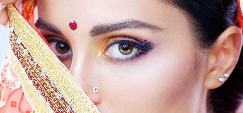 Najlepšie svadobné makeup Umelci v Bombaji - náš top 10