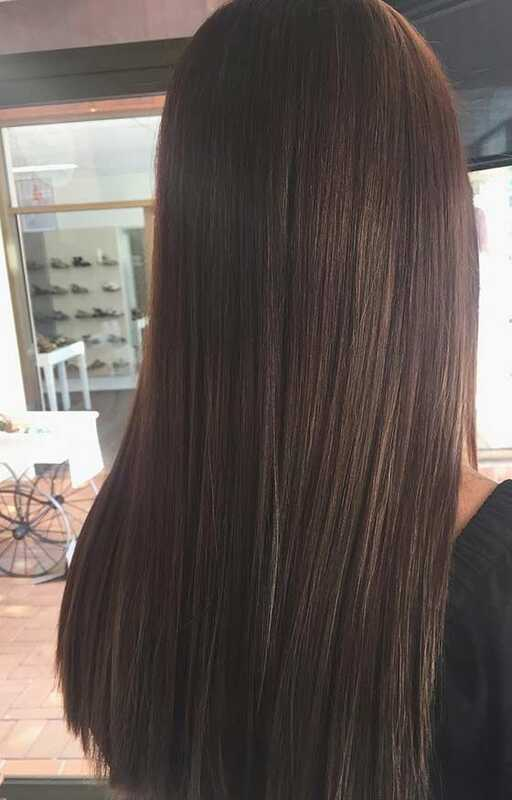 Top 30 Chocolate Brown haarkleur ideeën