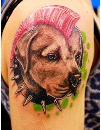 Najlepšie tetovanie psov - náš top 10