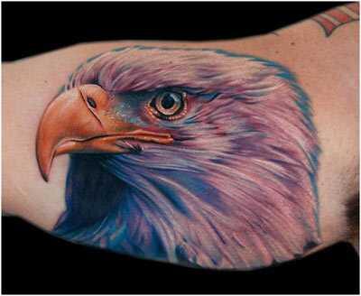 Bedste Eagle tatoveringer - vores top 10