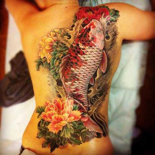 Bedste fisk tatoveringsdesign - vores top 10