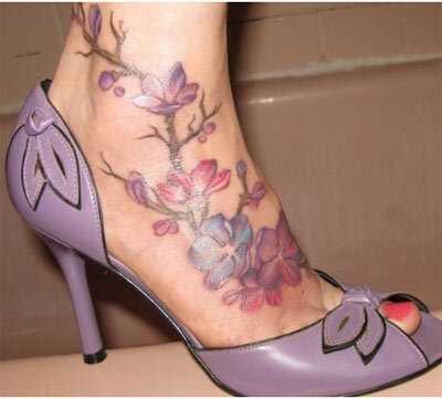 Bedste fod tatoveringsdesign - vores top 10