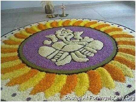Najlepšie dizajny Ganesh Rangoli - naše top 10