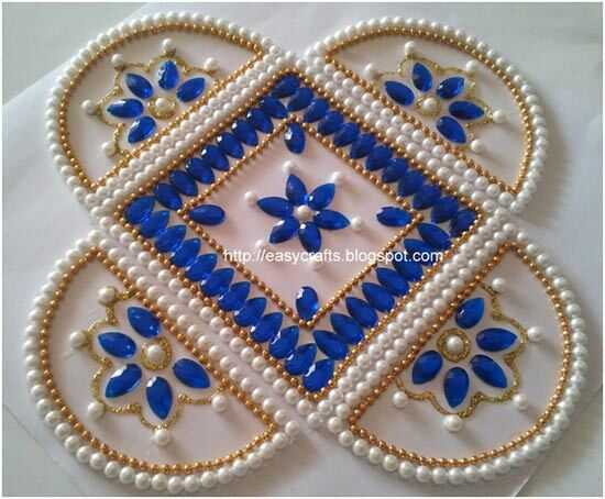 Beste Kundan Rangoli designs - onze top 10 picks