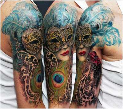 15 najlepších návrhov tetovanie na maske