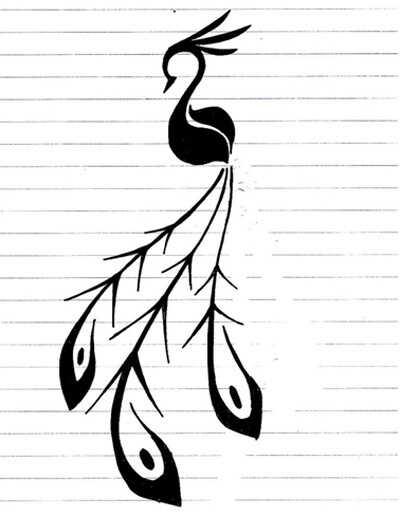 10 Pôsobivé tetovanie tetovanie Peacock