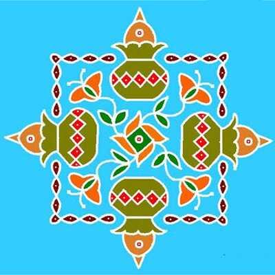 16 najlepších návrhov Pongal Kolam, ktoré by ste mali skúsiť