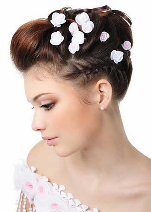 10 formelle brude frisurer, som du kan prøve til din bryllupsdag