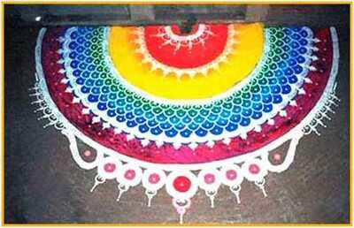 20 najlepších vzorov Rangoli pre Diwali 2017 vás inšpiruje