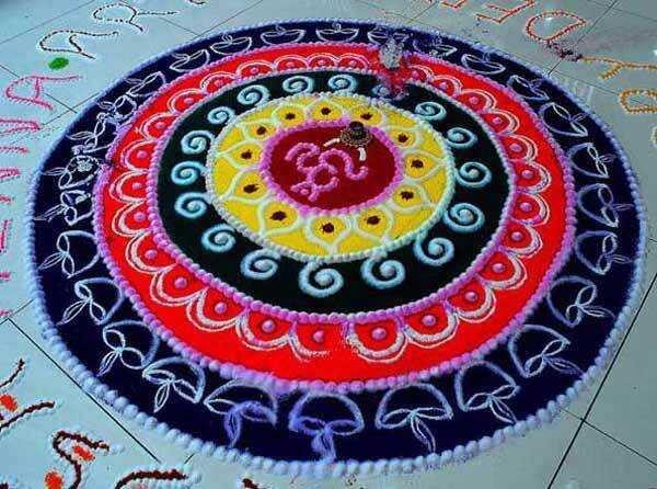 Najlepšie návrhy Sanskar Bharti Rangoli - naše top 10
