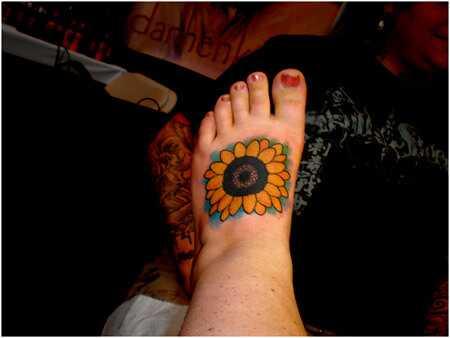 Bedste solsikke tatoveringsdesign - vores top 10