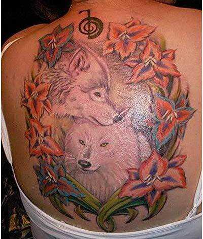 Bedste Wolf tatoveringer - vores top 10