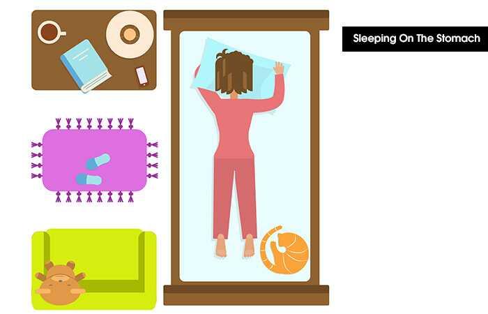 Labākās un sliktākās miega pozīcijas