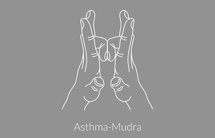 5 najlepších jogových mudrov pre pacientov s astmou