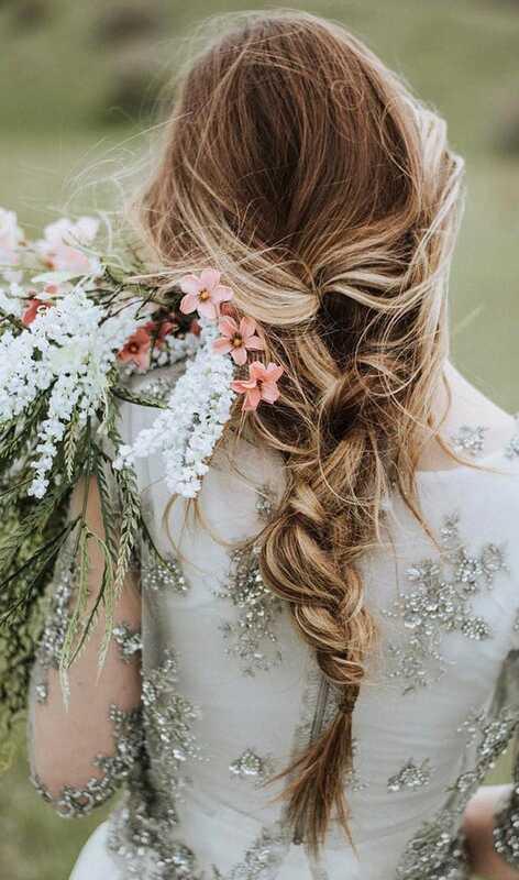 10 bruids kapsels voor lang haar