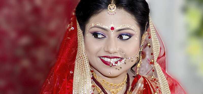 Top 9 svadobné make-up Umelci v Kalkate