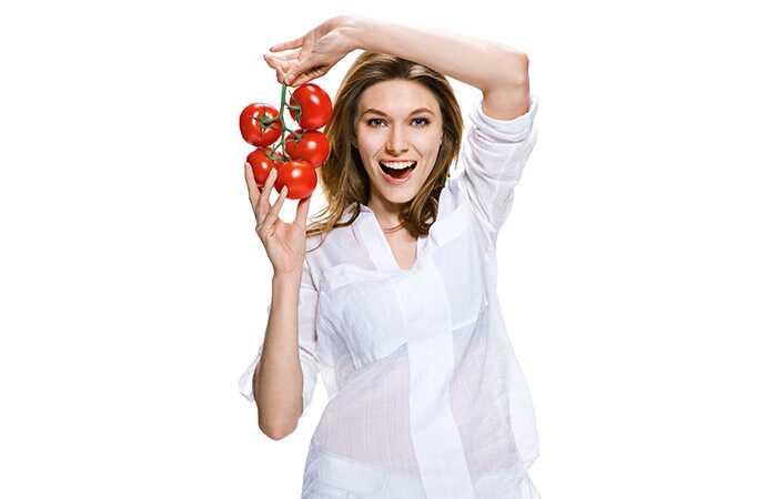 Kas söövad tomatid aitab teil kaalust alla võtta?