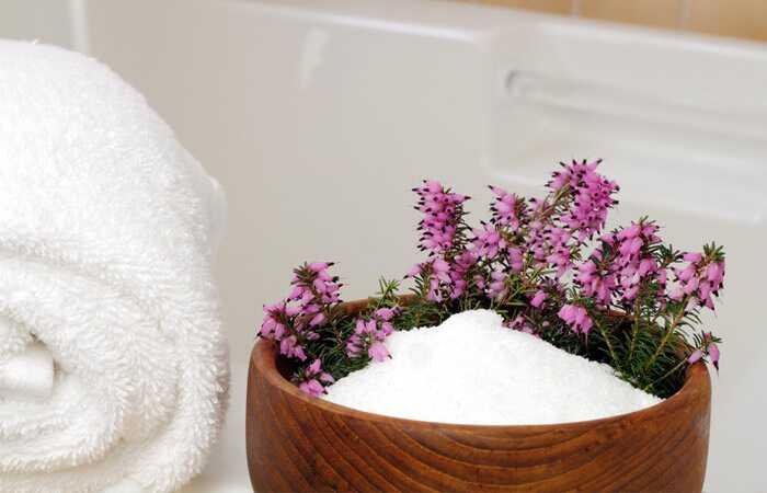 Epsom Salt Bath til vægttab
