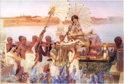 Kleopatra kráľovské tajomstvá