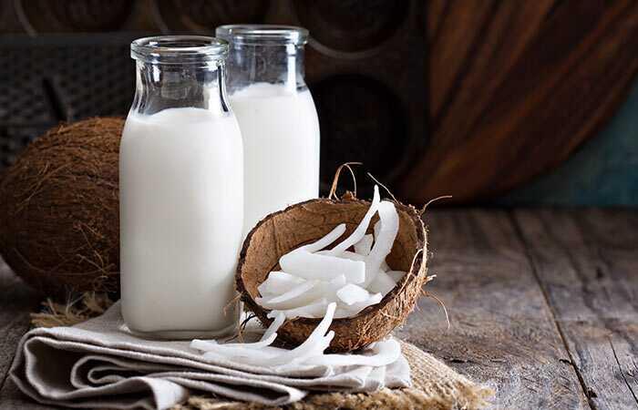 Kaip naudoti kokoso pieną plaukams augti