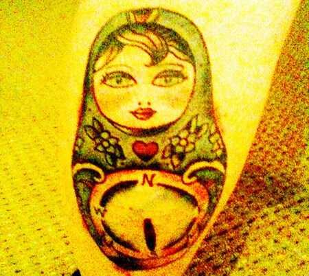 Top 10 dizajnov kompas tetovanie
