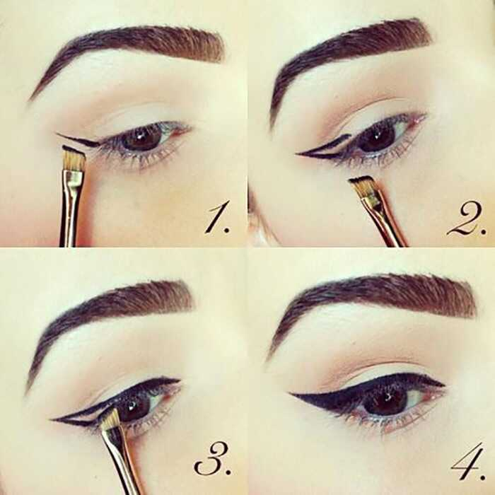 Ako vytvoriť perfektné okrídlené očné linky?