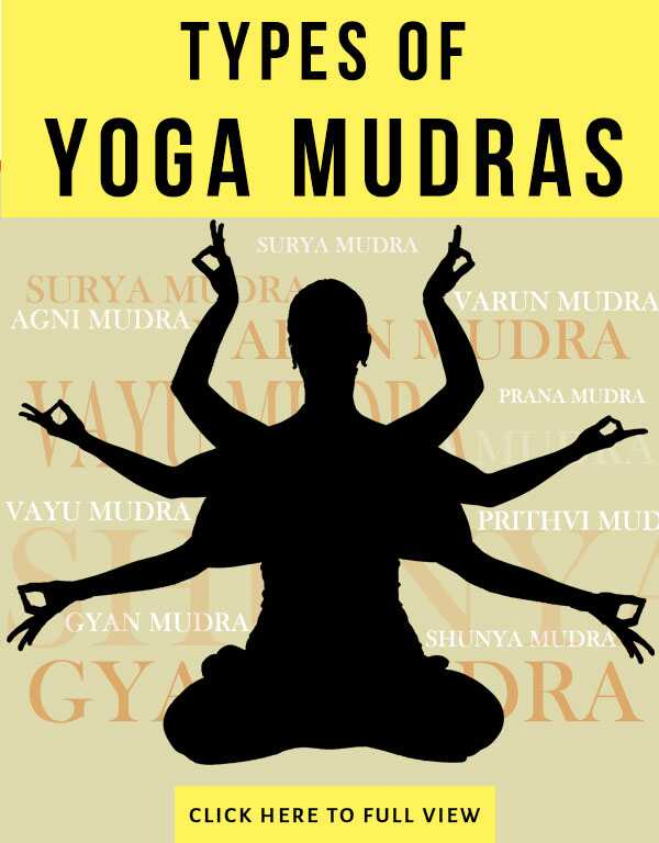 8 Yoga Mudras at overvinde eventuelle lidelser !!