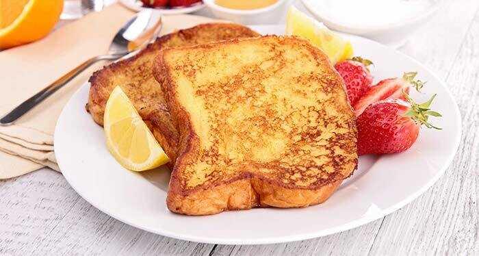 Top 5 skanus kiaušinių ir duonos receptai išbandyti