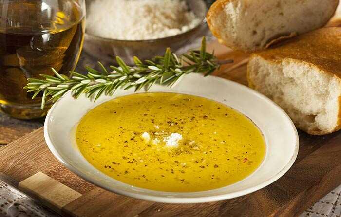 5 Lækker olivenolie Dipopskrifter Du skal prøve